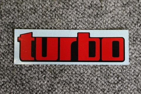 テールカウル用turboステッカー