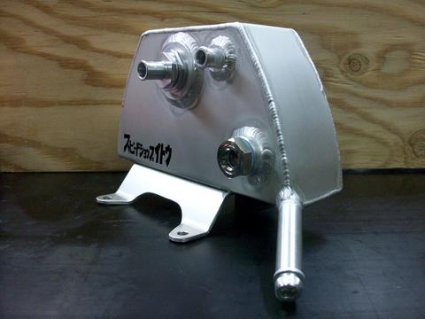 GPZ900R用レデューサーinキャッチタンク