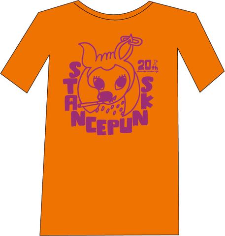 バンビTシャツ<オレンジ(WEB限定カラー)>