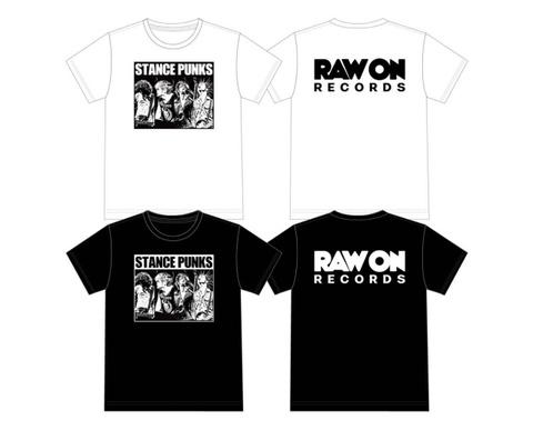 RAW ON Tシャツ