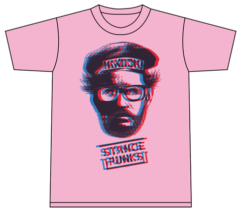 Mr.KNOCK 3D Tシャツ ピンク