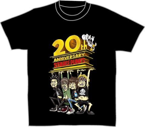 20周年イラストTシャツ<黒>