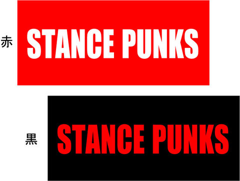 STANCE PUNKS ステッカー