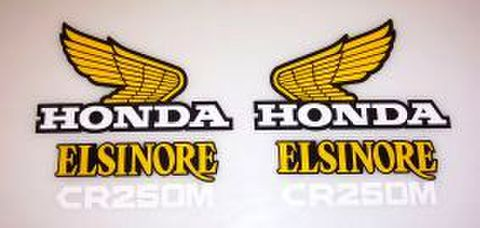 1976 Honda CR 250 Tank & Side Panel Decal Kit