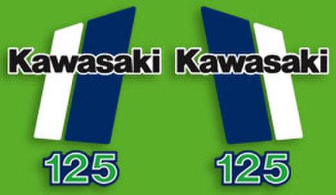 1980-81KAWASAKI KX125デカールセット