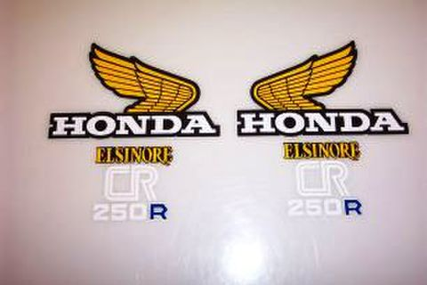 1978 Honda CR 250 Tank & Side Panel Decal Kit