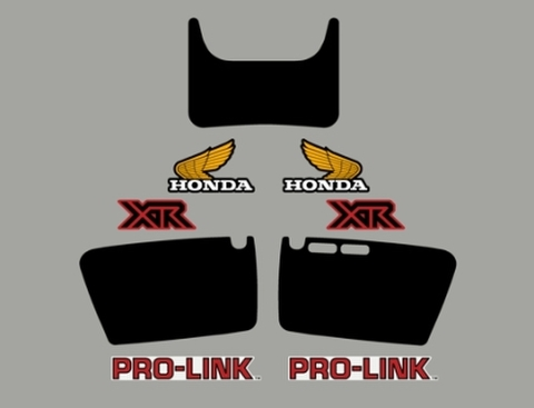 1981 Honda XR 200R Decal Kit