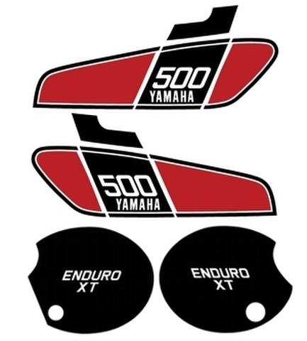 1976/1978 Yamaha XT500デカールセット