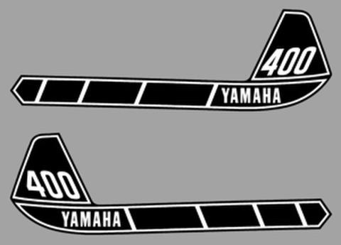 1976 Yamaha IT400タンクデカールセット