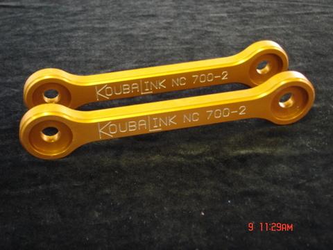 KOUBA LINK NC700X3.5cmローダウンリンク