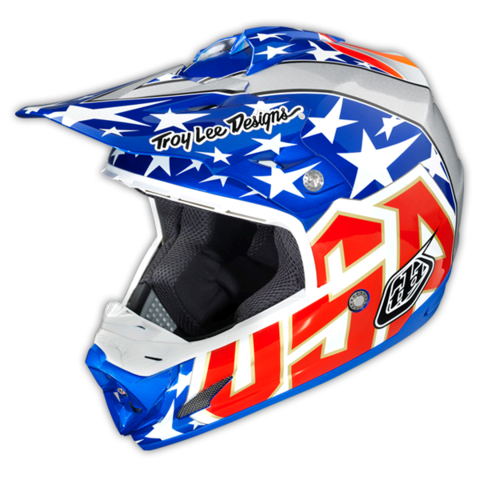 TROY LEE SE3 3X Ward Replica Blue