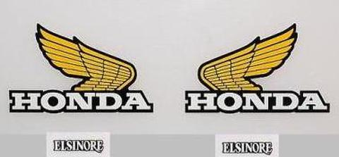 1980 Honda CR 80 Tank & Side Panel Decal Kit