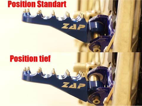 ZAP TECHNIX E-PEGローポジションバージョン KTM