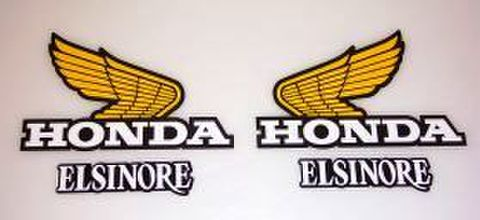 1980 Honda CR 125 Tank & Side Panel Decal Kit