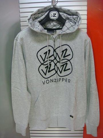 VONZIPPER FULL ZIP HOODY