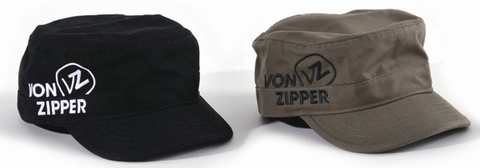 VONZIPPER FIGURE MILITARY CAP