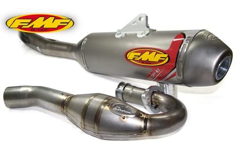 FMF FACTORY4.1チタン+MEGA BOMBチタン