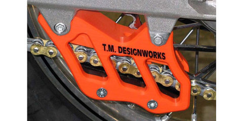 T.M.DESIGNWORKS KTM Factory Edition # 2MX Chain Guide