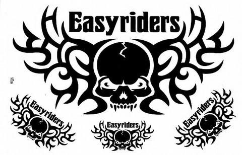 EASYRIDERS ステッカー B5 N107