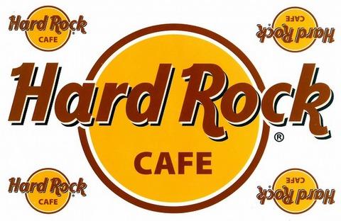 Hard Rock Cafe  ハードロックカフェ ステッカー B5 N170