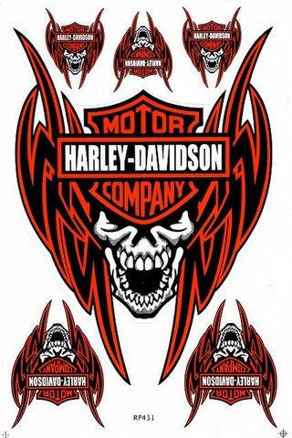 Harley‐Davidson ハーレーダビッドソン ステッカー B5 N209