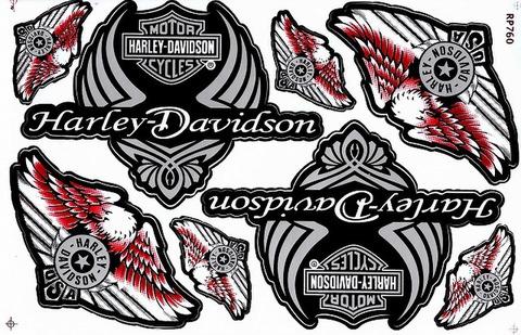 Harley‐Davidson ハーレーダビッドソン ステッカー B5 N221
