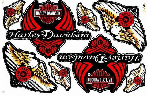 Harley‐Davidson ハーレーダビッドソン ステッカー B5 N222
