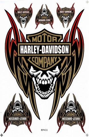 Harley‐Davidson ハーレーダビッドソン ステッカー B5 N223