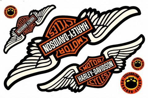 Harley‐Davidson ハーレーダビッドソン ステッカー B5 N225