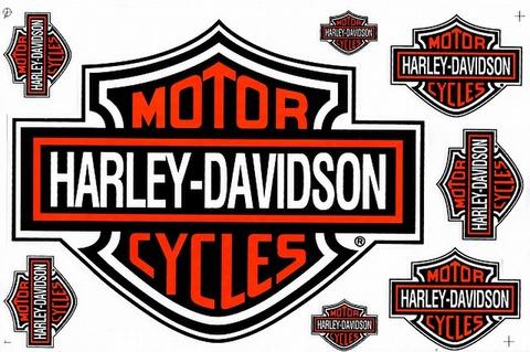 Harley‐Davidson ハーレーダビッドソン ステッカー B5 N226
