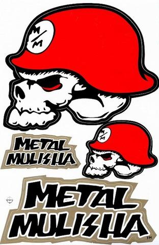 METAL MULISHA(メタル マリーシャ)  ステッカー B5 N214