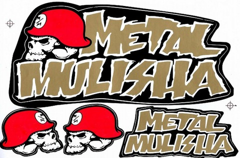 METAL MULISHA(メタル マリーシャ)  ステッカー B5 N216