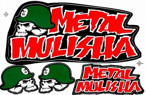 METAL MULISHA(メタル マリーシャ)  ステッカー B5 N217