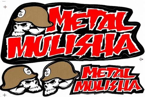 METAL MULISHA(メタル マリーシャ)  ステッカー B5 N218