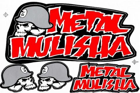 METAL MULISHA(メタル マリーシャ)  ステッカー B5 N219