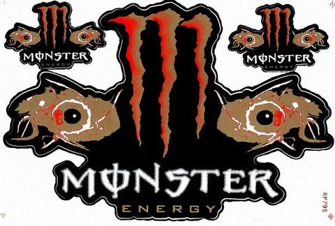MONSTER ENERGY(モンスターエナジー) ステッカー B5 N140