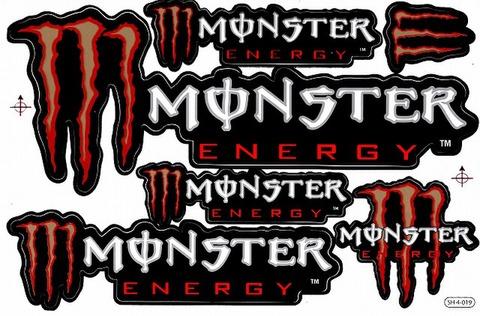 MONSTER ENERGY(モンスターエナジー) ステッカー B5 ON139