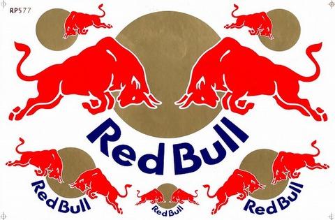 Red Bull レッドブル ステッカー B5 N187