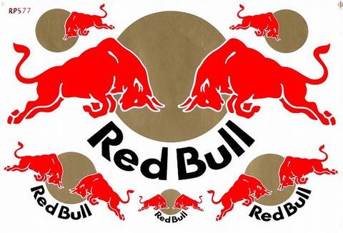 Red Bull レッドブル ステッカー B5 N194
