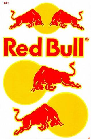 Red Bull レッドブル ステッカー B5 N195