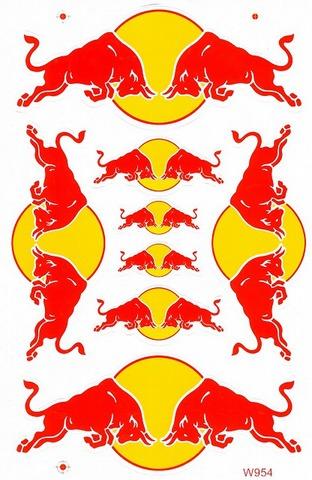 Red Bull レッドブル ステッカー B5 N196