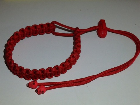 Paracord Marker RED