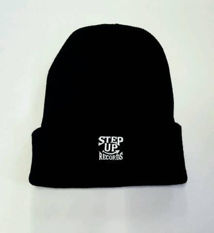 STEPUP刺繍ニット 黒