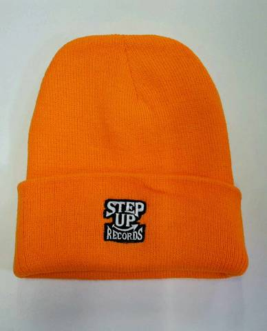 STEPUP刺繍ニット オレンジ