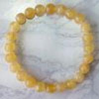 オレンジカルサイト<アラゴナイト>(8mmブレスレット)