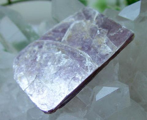 レピドライト結晶原石No.9974