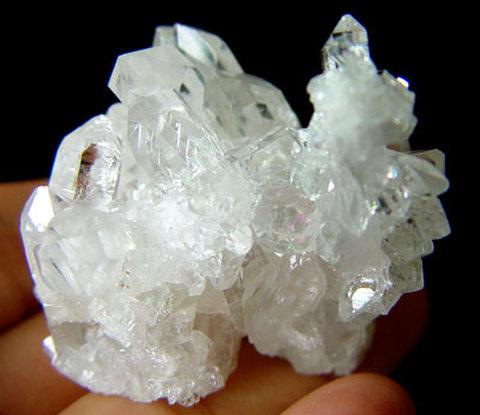 天然水晶ミニクラスター№00038
