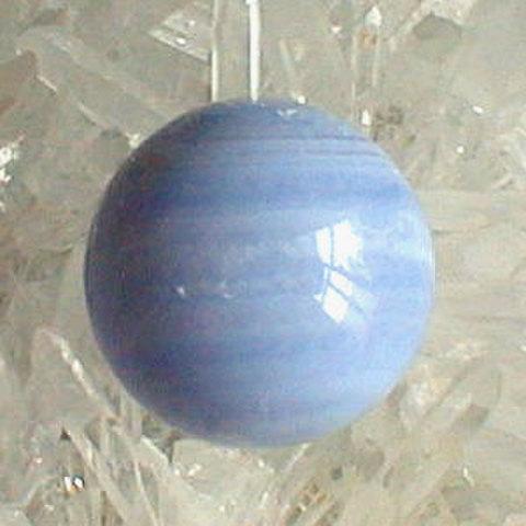 ブルーレースアゲート20mm丸玉