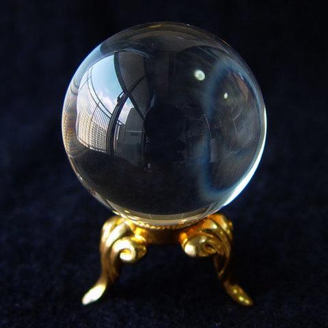 ブラジル産天然水晶29mm丸球