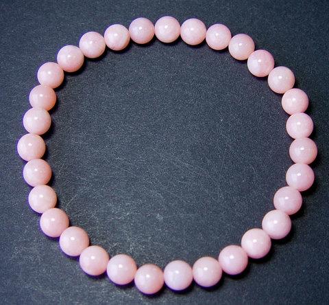ピンクオパール(6mmブレスレット)